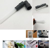 Wholesale portable dust vacuum - Multi-functional Dust Daddy Brush Cleaner Dirt Remover Portable Universal Vacuum Brush Tubes tool Cleaning Tools KKA4420