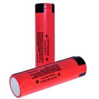 ingrosso sanyo lithium-100% autentico Sanyo 18650GA 3500 MAH 10A 18650 batteria scarica batterie al litio ricaricabili per 3400mah Samsung 25R 30Q SONY VTC6