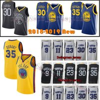 Wholesale quick state - Mens Golden State Stephen Curry Kevin Durant Warriors jersey Draymond Green Klay Thompson Andre lguodala Stitched Jerseys