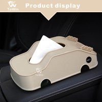 Wholesale tissue box multifunctional for sale - Group buy Multifunctional Organizer for GPS Cards Phone Key Napkin Tissue Storage Box Home Living Room Office Car Interior Accessories