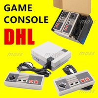 Wholesale nes mini controller for sale - Group buy Mini TV Game Console store Video Handheld for NES games consoles with retail boxs