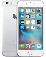 iphone 64gb kilidi toptan satış-100% Orijinal 4.7 inç 5.5 inç iPhone 6 iphone 6 Artı IOS 8.0 MP Kamera 4G LTE Parmak Izi Unlocked Yenilenmiş Cep Telefonları Ile DHL Ücretsiz