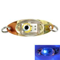 световая лампа для приманки рыбы оптовых-New Lamp LED Deep Drop Underwater Eye Shape Fishing Squid Fish Lure Light Waterproo Outdoor Sport Portable bikes Light Hiking P#