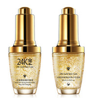 Wholesale gold cream for face - BIOAQUA 24K Gold Face Cream Moisturizing 24 K Gold Day Cream Hydrating 24K Gold Essence Serum For Women Face Care