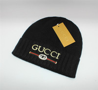 Wholesale luxury xmas gifts for sale - Luxury Brand Designer Caps Winter Famous Fashion Knitting Hats for Men and Women Kids Xmas Gift