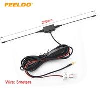 aktives antennenauto großhandel-FEELDO Car MCX Aktive Antenne Antenne mit eingebautem Verstärker für Digital-TV-Antenne # 914