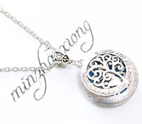 Wholesale Young Living - Essential Oil Diffuser Pendants Necklaces Young Living Doterra Aromatherapy Mom Heart