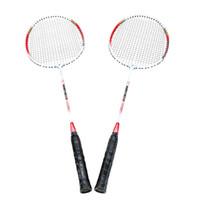 ingrosso attrezzature da badminton-Y1208R 2Pcs Allenamento racchetta da badminton con borsa per il trasporto Equipaggiamento sportivo Alluminio leggero resistente