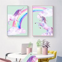Wholesale resin crosses resale online - Unicorn Flamingo d Diamond Painting Kits For Kids Adults DIY Unicornio Design Cross Stitch Resin Bling Multi Size om3 CZ