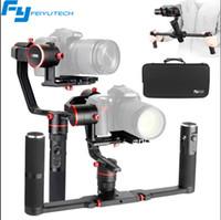 achsenkardan dslr großhandel-Feiyu A2000 360 ° 3-Achsen-Handheld-Gimbal-Stabilisator wasserdichter Profi für DSLR / Mirrorless-Kamera