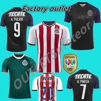 Free shipping 2017 2018 Mexico Club Chivas de Guadalajara Soccer Jersey  Home away 17 18 Chivas Football shirts Size can be mixed batch 13e005ed6