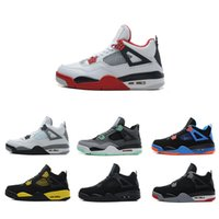 Wholesale mens boots for sale cheap - 2018 New Kyrie Irving 4 Basketball Shoes for Cheap Sale Sneakers Sports Mens Shoe Wolf Grey Team Red Outdoor Trainers Basket Ball Boots