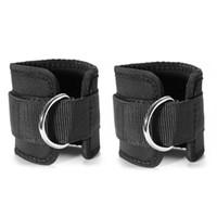 rollengewichte groihandel-Verstellbare D-Ring-Knöchelriemen (Paar) für Kabelmaschinen Workouts Beinrolle Krafttraining im Fitnessstudio Unisex für Männer und Frauen