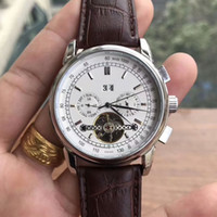 Wholesale Mechanical Designer - Hollow Tourbillon Original Watches Luxury Men Watch Fully Automatic Mechanical Designer Fashion Business Leather Strap Mens Watches