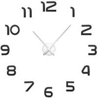 игла для кварцевых часов оптовых-Creative Wall Sticker 3D Large Number Wall Clock Horloge DIY Mirror Stickers Home Decoration Living Room Quartz Needle G2025