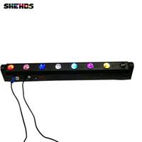 hareketli ışıklar toptan satış-Hızlı Kargo LED Bar Işın Hareketli Kafa Işık RGBW 8x12 W Mobil DJ için Mükemmel, Parti, gece kulübü