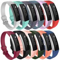 силиконовые полоски для часов оптовых-Горячие продажи силиконовые замена ремни группа для Fitbit Альта смотреть интеллектуальный нейтральный классический браслет ремешок группа с застежкой иглы