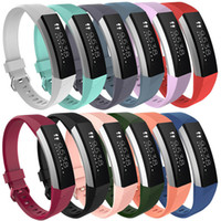 Wholesale pink bracelets for sale resale online - Hot Sales Silicone Replacement Straps Band For Fitbit Alta Watch Intelligent Neutral Classic Bracelet Wrist Strap Band With needle Clasp