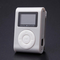 Wholesale mini clip mp3 player bluetooth for sale - Group buy High Quality mini Clip MP3 Player Support GB Micro TF SD Card Slot Sports MP3 Music Player With Screen Portable Gife