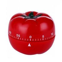 temporizadores internos venda por atacado-1-60min 360 graus de moda bonito cozinha interior prático tomate temporizador mecânico de contagem regressiva