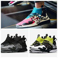 Wholesale top labs online - 2018 ACRONYM x Lab Air Presto Mid Racer Pink Photo Blue Running Shoes For Men Women Top Quality acronym prestos Trainers Eur