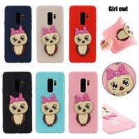 Wholesale 3d dog cases for sale – best New Arrivals for iPhoneX Plus Cute D Cartoon Panda Cat Owl Dog Soft Tpu Silicone Case Cover for Samsung Galaxy S8 S7 S9 plus