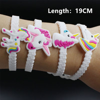 Wholesale free toys for kids online - Pawliss Emoji Bracelets Wristband Unicorn Birthday Party Favors Supplies for Kids Girls Emoticon Toys Prizes Gifts Rubber Band