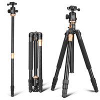 Wholesale tripod camera professional for sale - QZSD Q999H Professional Multifunction Aluminium Horizontal Camera Tripod Monopod with Ball Head Center Column for DV DSLR by dhl