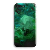 iphone verde azul venda por atacado-Azul Florescente Fluxo De Pedra Verde Linhas Abstratas Padrão Telefone Caso Capa Traseira Para apple iphone 6 6 s 7 8 além disso x