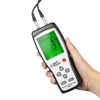 Wholesale ultrasonic testers - SMART SENSOR Handheld Digital Ultrasonic thickness gauge Professional Thickness Tester Depth Meter Range 1.2-225mm High Accuracy