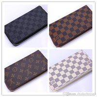 Wholesale leather fur purse for sale - 2018 NEW Man Purse Wallets Leather Famous Brand Designer Luxury Long Wallet Women Wallets Female Bag Ladies Vintage Simple fashion