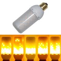 Wholesale Cree Fire - Meegan Flame001 LED Decorative Lights Flicker Flame Light Bulb Creative Fire Effect Bulb Decorative Lamp Bulb 85V-265V Pack of 1 Unit