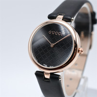 Wholesale womens watches leather quartz - new high quality simple watches women luxury brand quartz watch movements womens fashion dress leather watches black Free shipping