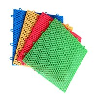 Wholesale plastic playgrounds online - Motion Mats Park Pad Mix Colour Playground Assembling Ground Mat Plastic Tasteless Waterproof Kindergarten Creative yy V