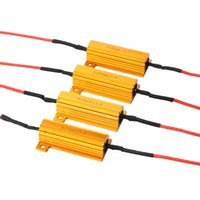 Wholesale load resistors resale online - 4x W ohm Load Resistor Fix Errors Turn Signal Bulb Brake Hyper Flash Blink Blinker Error For Auto Car LED Lamp Bulb