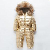 kinder ceket toptan satış-Orangemom marka 1-4Y kış tulum marka bebek giyim mont sıcak bir adet çocuklar kış ceket ceket, aşağı kinder snowsuits