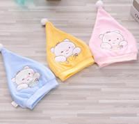 a66d2e0e521 Wholesale fetal baby for sale - Newborn Baby Cap Fetal hat Cute Bear Cap  Cotton Printing