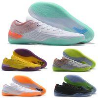 d24bdbecc261 NEW 2019 Kobe 360 AD NXT Yellow Orange Strike Derozan Basketball Shoes  Cheap Slae Mens Trainers Wolf Grey Purple Sneakers Size 7-12