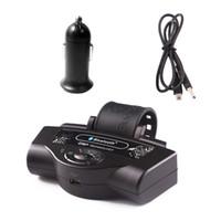 ingrosso bluetooth del diffusore del volante-Volante per auto Bluetooth vivavoce Smart Phone Volante Senza fili Telefono vivavoce Kit per auto Lettore musicale MP3 2.0