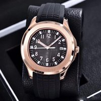 Wholesale bangs online - Luxury brand watch mm Aquanaut Automatic movement steel case comfortable rubber strap original clasp AAA watches bang