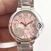 melhor relógio de pulso automático venda por atacado-Luxo Melhor Relógio De Pulso de Edição AF fábrica balão azul W6920100 33mm Sapphire Vidro 316L Mecânico Automático Das Senhoras Das Senhoras Relógios