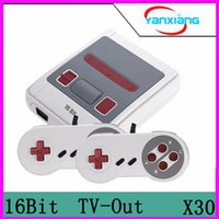 Wholesale Av Console - 30pcs 16 Bit Retro Mini Video Game Console Family Handheld Consoles Support TV AV Output Vedio MD Games With Retail Box Via DHL YX-MD-01