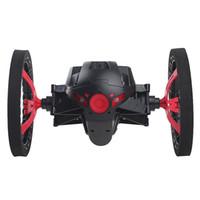 neues design radio groihandel-NEUER Entwurf 2 .4G RC Radio Drone Jump High-Bounce-Auto mit flexiblen Rädern