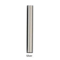 серебряные электронные сигареты оптовых-Электронные сигареты батареи 510 Vape комплект 1 мл картридж C5 батареи 10.5 мм Диаметр белый серебристый черный 510 толстые картриджи с маслом