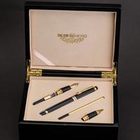 ingrosso scatole di spedizione uniche-Hero 1111 Iraurita Fountain Pen Roller / Penne calligrafiche High End Unique Penne in legno Box regalo da ufficio Spedizione gratuita