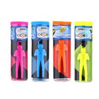 os miúdos jogam o pára-quedas venda por atacado-Nova Moda Mini Crianças Parachute Mão Jogando Parachute Toy Play Jogos Ao Ar Livre Crianças Educacionais Parachute Com Figura Soldado