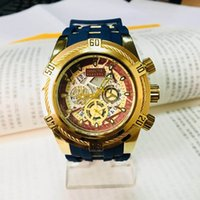 Wholesale Black Steel Wire - Outdoor sports quartz men's watch INVICTAS small pointer all can work Large wire dial GA100 Free Shipping