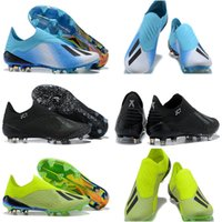 6e513242daa11 2018 Mens World Cup ACE X 18+ Speedmesh FG Soccer Cleats Purechaos Soccer  Shoes Football Boots Low Ankle X ACE Tango 18 PureControl