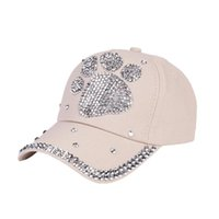 hot sale online 65bc0 a7d3f Wholesale rhinestone hats online - New Fashion Baseball Cap women hat for  party Rhinestone Shaped Boy Find Similar