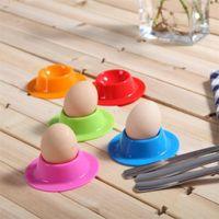 ingrosso uova trasparenti-Scatola di immagazzinaggio trasparente per uova Frigorifero Crisper Egg Storage Basket Grid portatile uovo cartoni Cucina attrezzo IB714